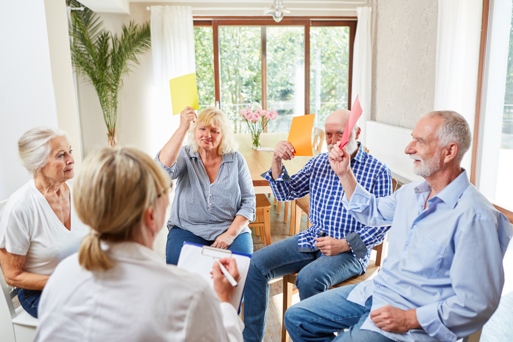 memory circle Cognitive Games for Seniors