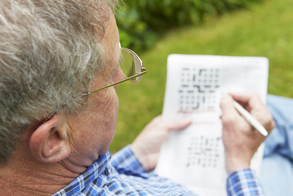 Cognitive Games for Seniors crossword puzzles