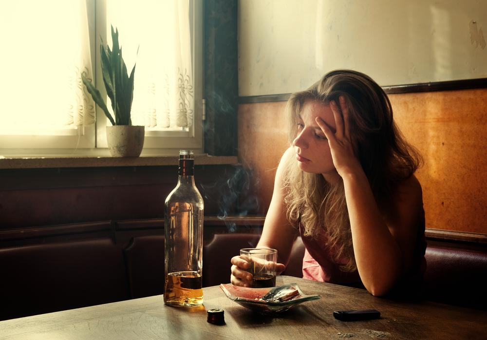 is alcohol a depressant